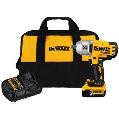 DEWALT DCF899P1 20V MAX XR Brushless High Torque 0.5″ Impact Wrench Kit with Detent Anvil (1)