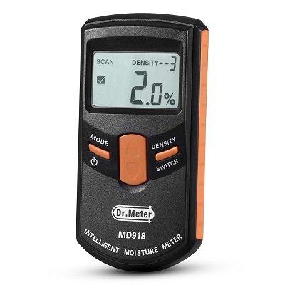 Dr.meter MD918 Pinless Wood Moisture Meter