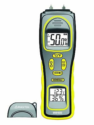 General Tools MMH800 4-In-1 Combo Moisture Meter