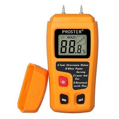 Proster Digital Wood Moisture Meter Handheld LCD
