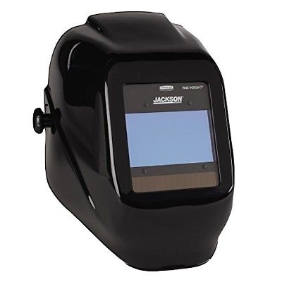 Jackson Safety 46131 Insight Variable Auto Darkening Welding Helmet, HaloX, Black